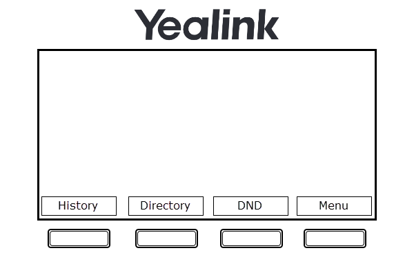 Yealink programmable GUI function buttons